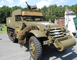 M3 Half-Track Personnel Carrier
