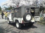 JGSDF Type73 Light Truck rear