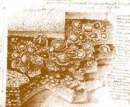 Остатки трипольской площадки