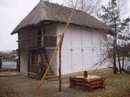 Модель трипольского дома в натуральную величину