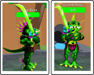 Roblox foe lizard boss