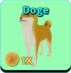 Roblox pet doge