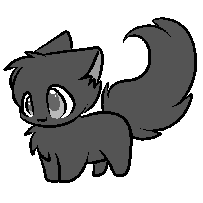 Free cat lineart by servene.png