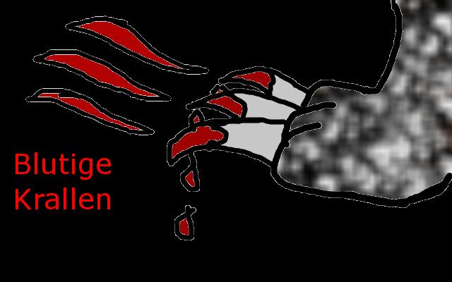 Blutige Krallen