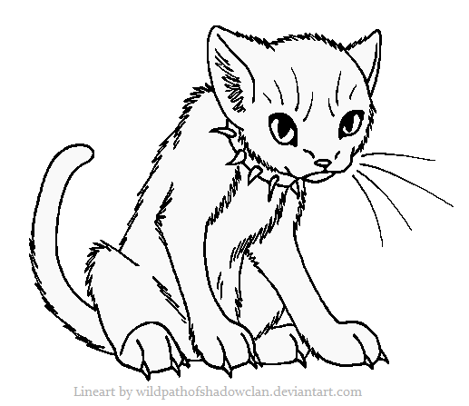 BloodClan Lineart by WildpathOfShadowClan.png