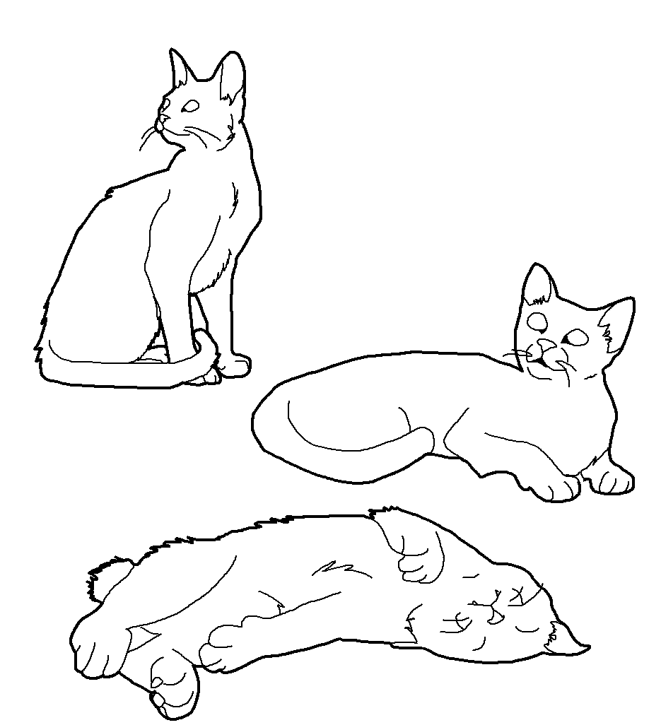 Cat lineart set 1 by crystalkoopa42-d43z51d.png