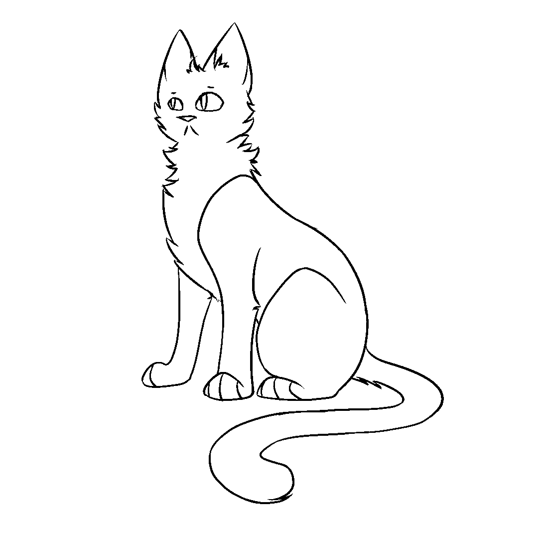 F2u windclan warrior cat lineart by codeflsh dcmme4h.png