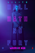 Warrior Nun Lilith S1 Poster