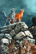 Коты принимают решение о возрождении Небесного племени, Миссия Огнезвезда золото