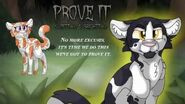 """Prove It"" Swiftpaw & Brightpaw."