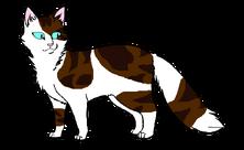 Манекен длношёрстной кошки