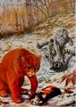 Огнезвёзд Медянка Крутобок и Частокол Битва за лес золото