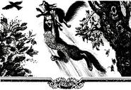 Ловкач поймал белку — из русскоязычного издания «Судьбы Небесного племени»