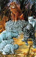 Пленники Костяной Горы, Битва за лес золото