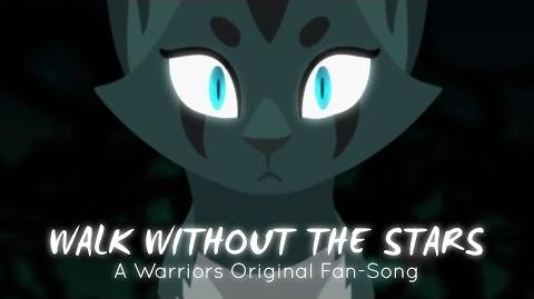 """Walk Without The Stars"" Ivypool. (ORIGINAL WARRIOR CATS RAP SONG)-0"