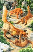 Шрам и Грозовые коты спасают Кашку и ее котят, Миссия Огнезвезда золото