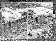Deepsands Gorge map