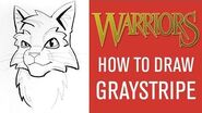 How To Draw Graystripe 🖌️ With James L