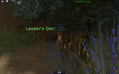 WindClan leader den.screenshot