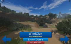 WindClan loading screen.screenshot