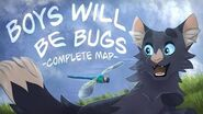 Boys Will Be Bugs Complete Warriors MAP