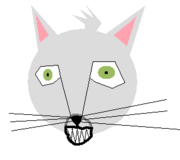 A grinning cat.png