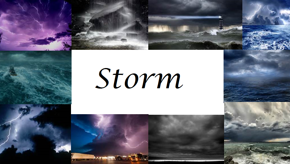 Storm: Fire, Ice and Sand