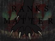Ranks Matter cover. By- XxWillowWindxX