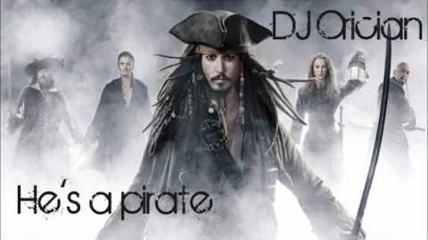 He's a pirate (trance version)