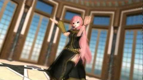 MMD World is Mine - Megurine Luka - Vocaloid (Katakiri Rekka Music)