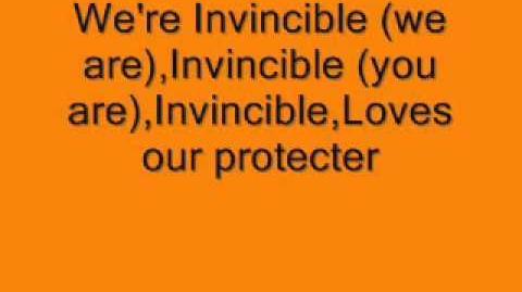 Tinie Tempah ft. Kelly Rowland Invincible Lyrics on Screen