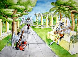 Gandharvas Heavenly Musicians by Kitsune aka Cettie-1-.jpg