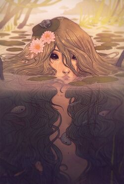 640x946 13171 Orial 2d fantasy water pretty fairy pond nymph lake picture image digital art.jpg