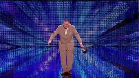 Martyn Crofts Dalek Impersonator HD - Britains got talent 2012 (auditions)