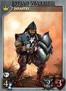 Card lg set1 estian warrior