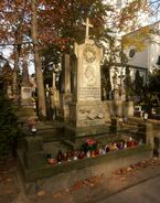 Cmentarz Powązkowski (nagrobek H. Wieniawskiego)