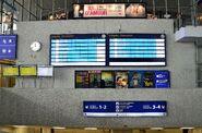 Tablice elektroniczne Hala Główna Dworzec Centralny