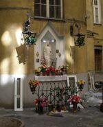 Noakowskiego (budynek nr 10, kapliczka)