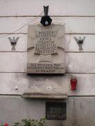 Podwale (budynek nr 25, tablica)