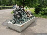 Ogród Zoologiczny (rzeźba lwa)