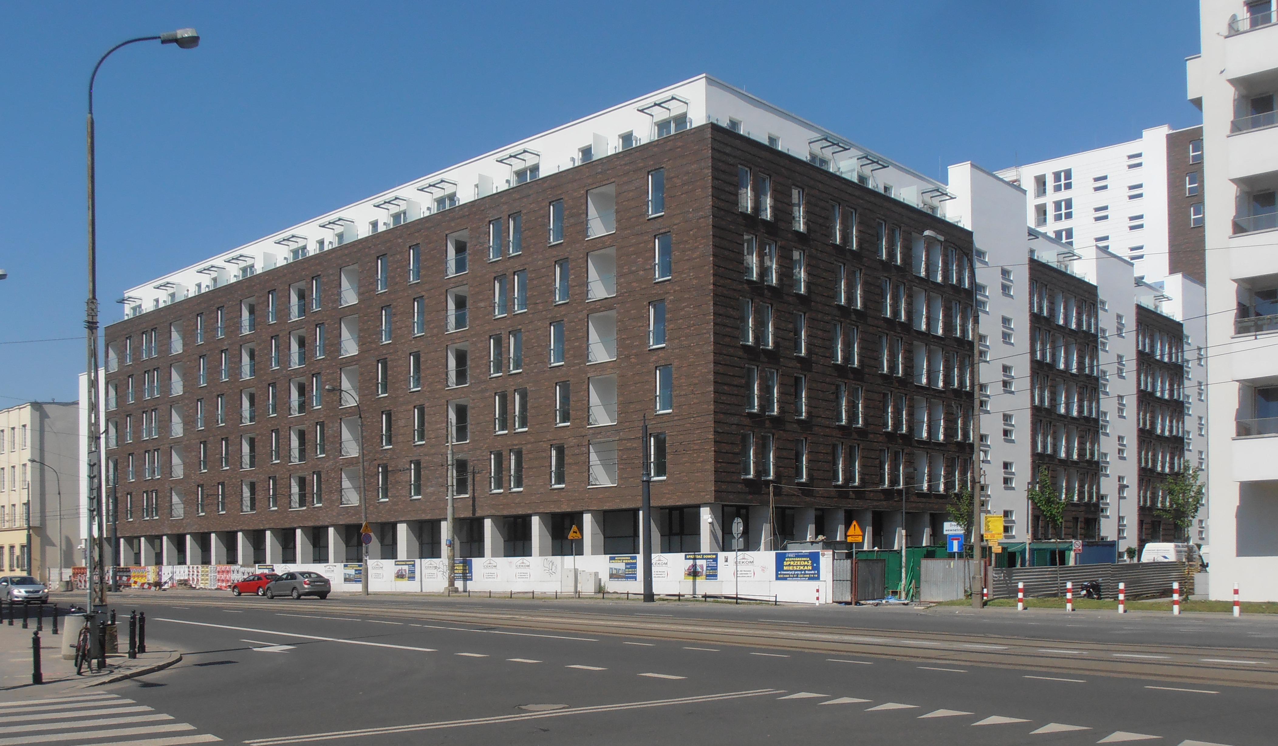 Budynek Stawki 8