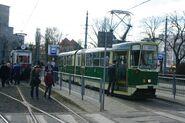 4N i 102N linia okolicznościowa E na pl. Narutowicza