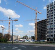 Warsaw Spire budowa 2