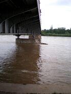 Most Śląsko-Dąbrowski (fala powodziowa)