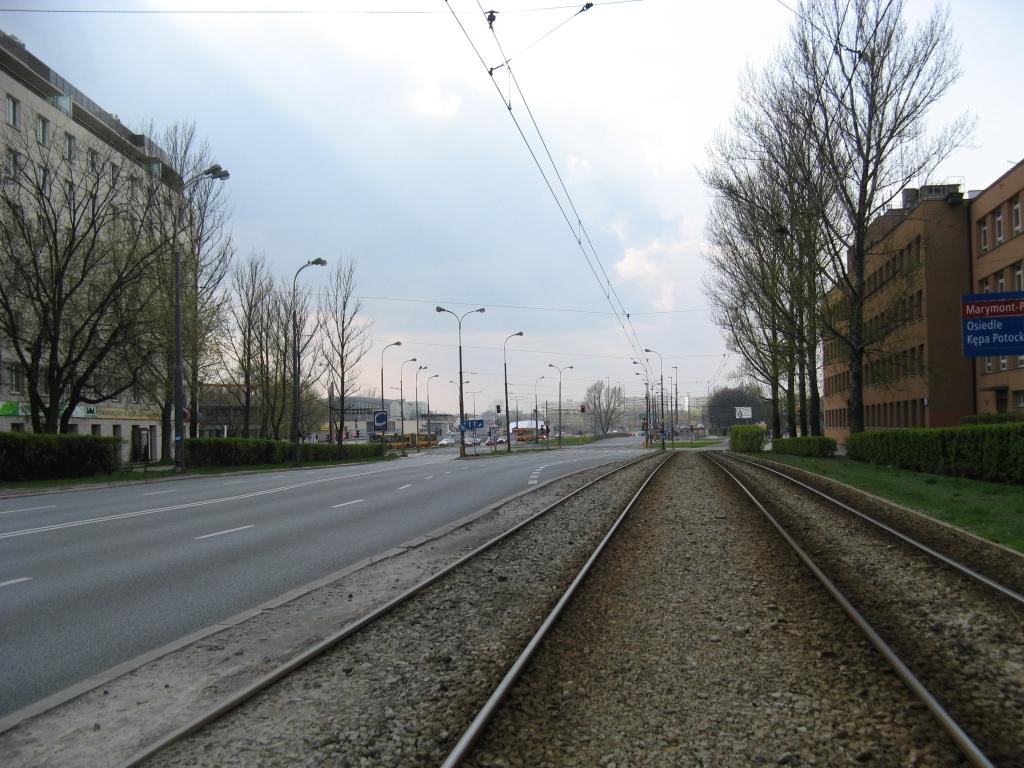 Ulica Słowackiego na Bielanach i Żoliborzu