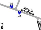 Zespół przystankowy Księcia Bolesława