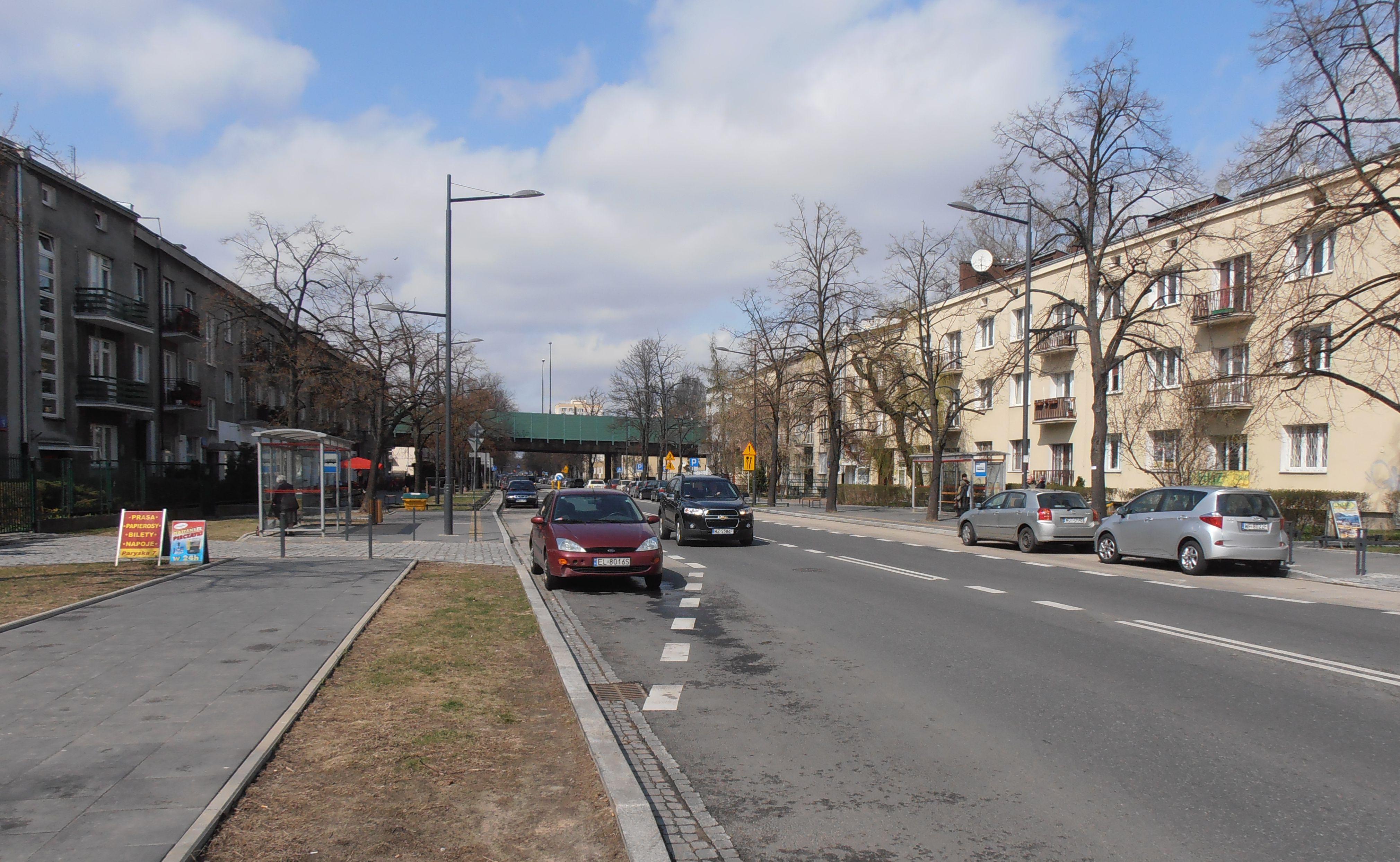 Ulica Paryska