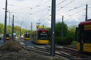 Metro Wierzbno tor odstawczy 2
