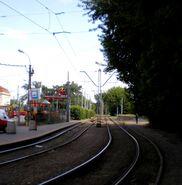 Aleja Tysiąclecia (tory tramwajowe)