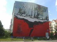 Mural patriotyczny Pilecki (by BartekBD)